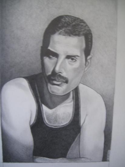 Freddie Mercury by kenten